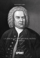 J.S. Bach five orchestral suites for piano